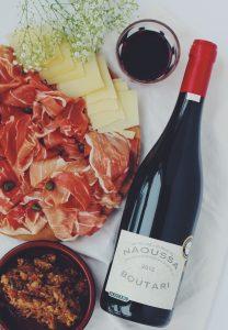 choix de vin avec son jambon